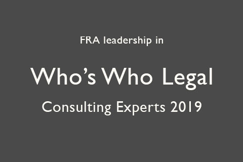 Who's Who Legal Consulting Experts 2019