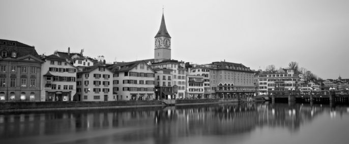 Zurich black and white