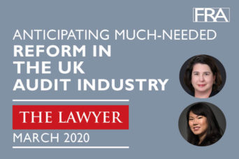 The Lawyer Reform in the UK Audit Industry