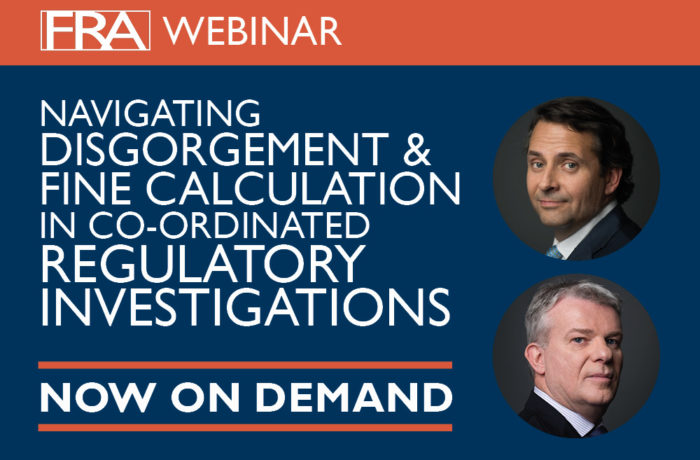 Navigating Disgorgement and fine calculations webinar