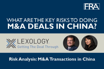 M&A Deals in China