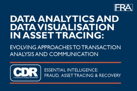 Data analytics and data visualisation in asset tracing: Evolving approaches to transaction analysis and communication