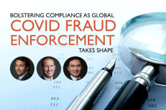 Bolstering compliance in global covid fraud enforcement web
