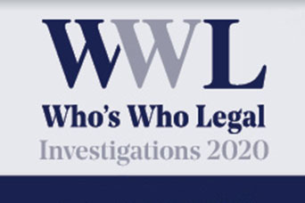 FRA Leadership recognized in Who's Who Legal: Investigations 2020