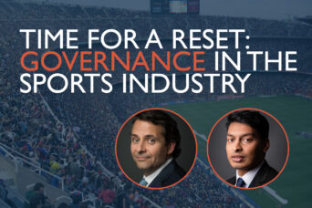 Time for a reset governance in the sports industry web new