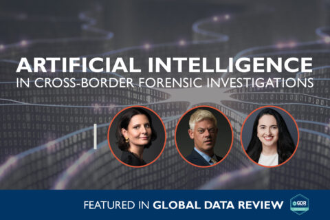 Artificial Intelligence in Cross-Border Forensic Investigations