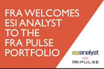 FRA Welcomes ESI Analyst to the pulse porfolio