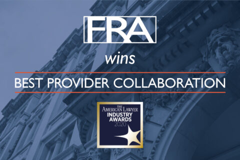 FRA wins at The American Lawyer Industry Awards web