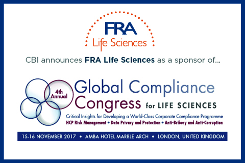 CBI conference 4th annula global compliance congress for life sciences