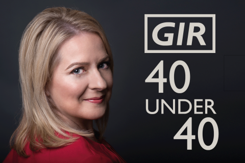 Emma Hodges GIR 40 under 40 2017