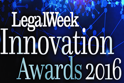 Highly Commended at Legal Week Innovation Awards