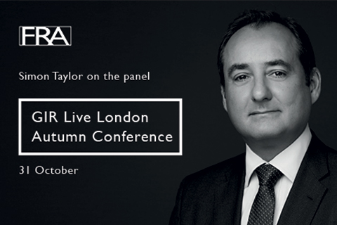 Simon Taylor GIR Live London Autumn Conference