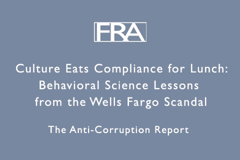 The Anti-Corruption Report Wells Fargo Scandal