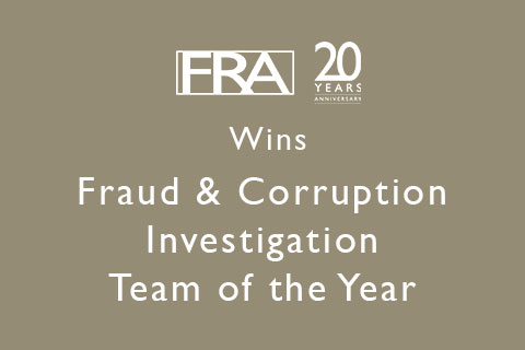 FRA wins at Women in Compliance Awards 2019