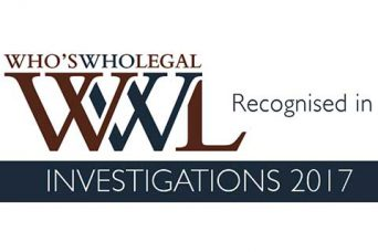 Whos Who Legal Investigations 2017